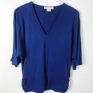 Last Chance Sale!  Michael Kors Blue Top